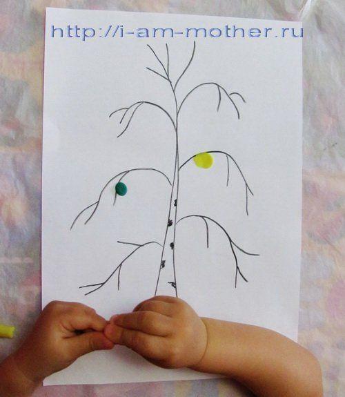 Аплікація з пластиліну на тему «осінь золота»: ідеї для дітей