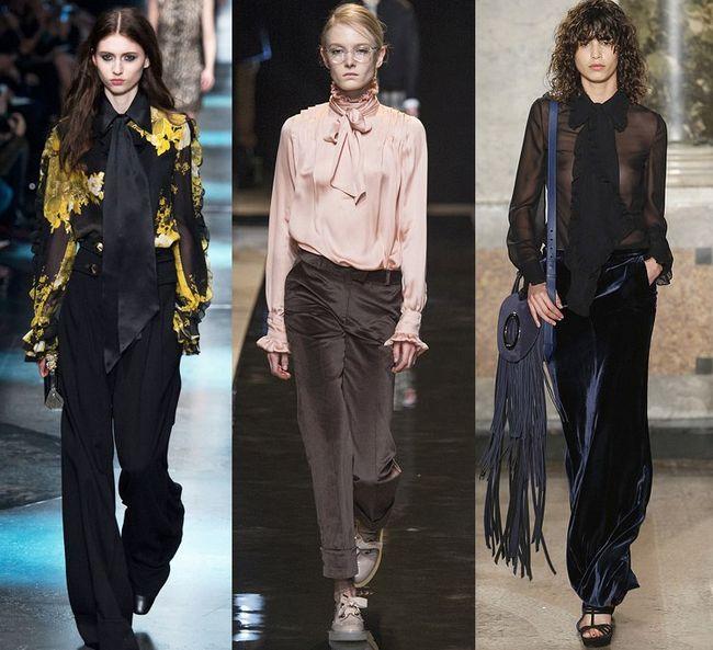 Блузки: модні тенденції 2017 року з фото найоригінальніших моделей