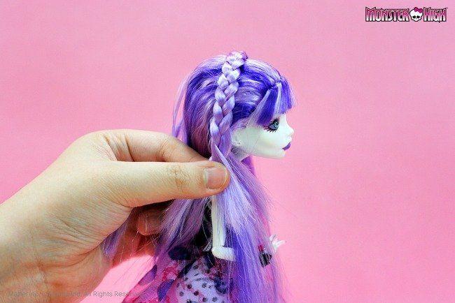 Робимо своїми руками зачіски для ляльок барбі і монстр хай