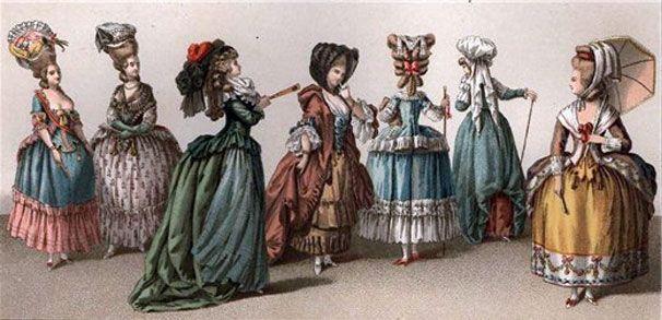 Цікаві факти з історії жіночих суконь