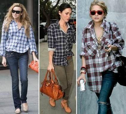 Як носити сорочку жінці і виглядати стильно і витончено
