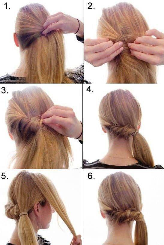 Як зробити красиву зачіску самій собі: повсякденне або святкову на основі хвоста, пучка або кіс