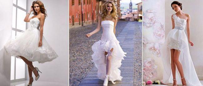 Яке весільне плаття підійде на маленький зріст?