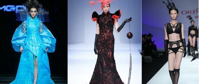 Китайська модний одяг