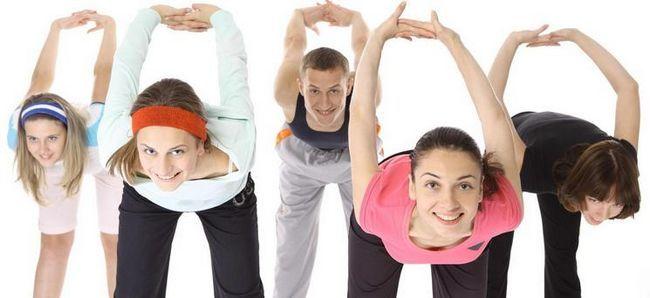 Комплекси вправ для виправлення постави у підлітків