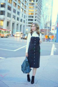 Джинсове плаття без рукавів на осінь, темно-сірого кольору, прямого фасону, довжиною нижче колін.