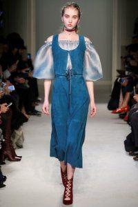 Повсякденна сукня без рукавів синього відтінку, прямого крою, довжиною нижче колін від Luisa Beccaria.