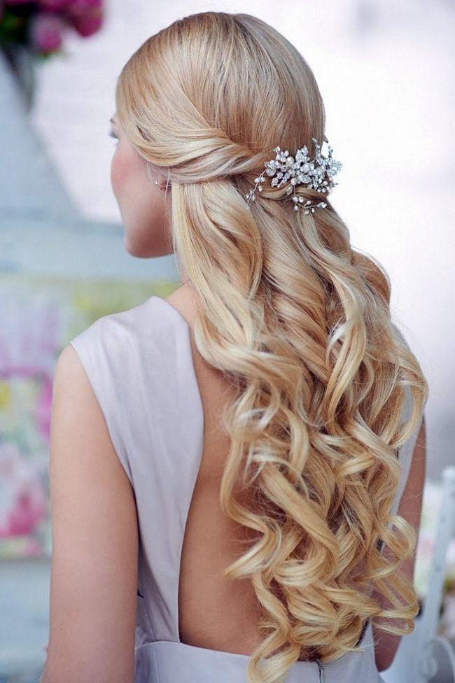 Красиві об`ємні зачіски на довге волосся c локонами, з чубком і без неї (з фото)