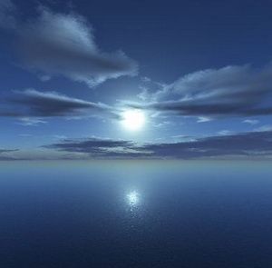 Магічне повний місяць в новорічну ніч
