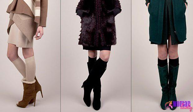 Модне жіноче взуття осінь-зима 2017-2012