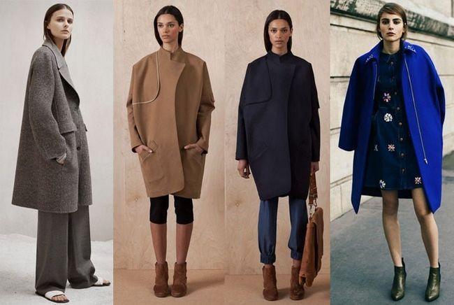 Модні фасони пальто 2017: на що звернути увагу при виборі стильного пальто