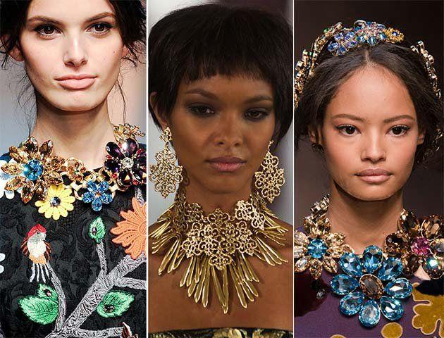 Модні прикраси та біжутерія, тренди 2017 року: фото самих стильних аксесуарів