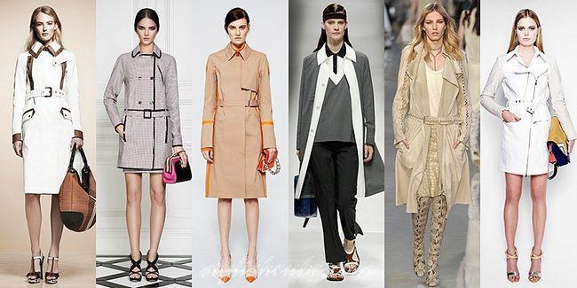 Модні жіночі плащі весна літо 2017 року з фото кращих моделей