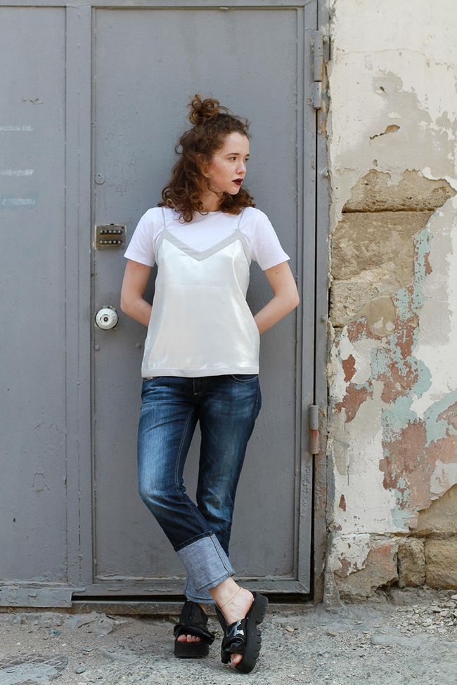 Модний блоггер random choicez: поєднання нижньої білизни зі спортивним одягом - фото