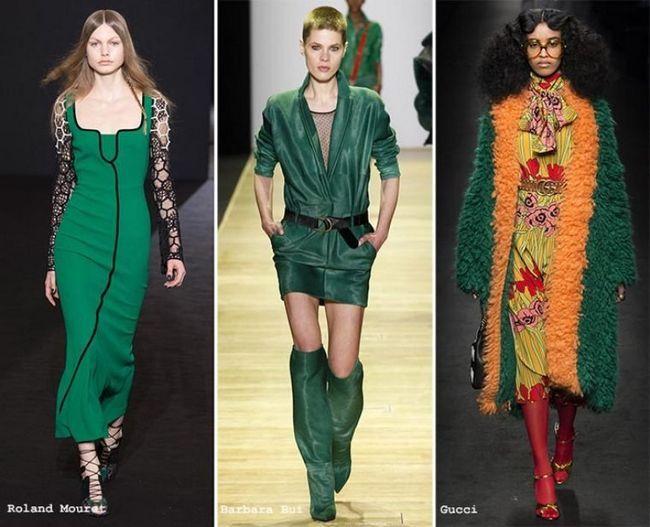 Модний колір одягу в 2017 році: що пропонують законодавці мод в цьому напрямку