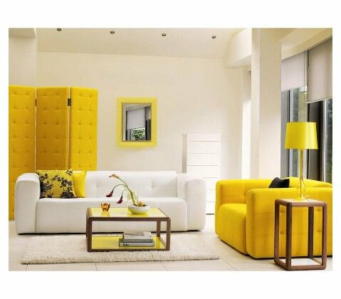 Не бійтеся кольору: жовтий - фото