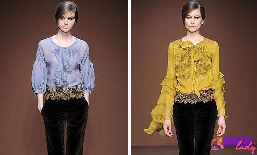 Осінь-зима 2017-2012: модні блузи