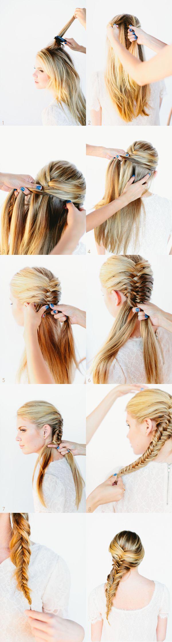 Плетіння кіс на довге волосся - запорука індивідуальності і успіху у чоловіків