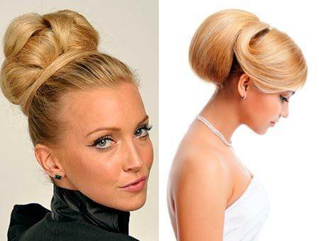 Зачіски з валиком для волосся: з бубликом і твистером, а також бабета