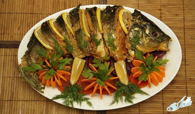 Рецепти фаршированої риби з різними начинками