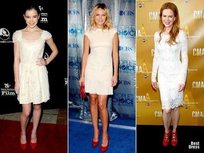 З чим носити білу сукню різних фасонів: як створити діловий, вечірній, повсякденний образ