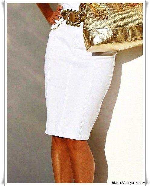 З чим носити білу спідницю олівець і як підібрати гардероб, щоб завжди виглядати стильно