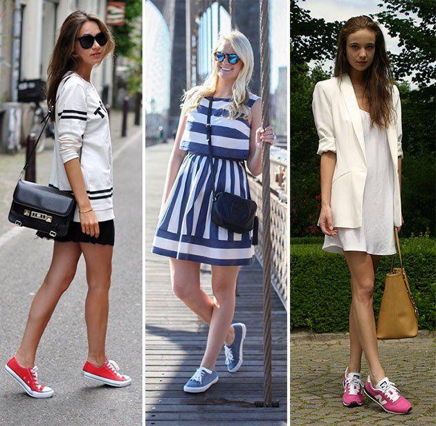 З чим носити кеди: основні правила стилю, що поєднує в собі жіночність і комфорт