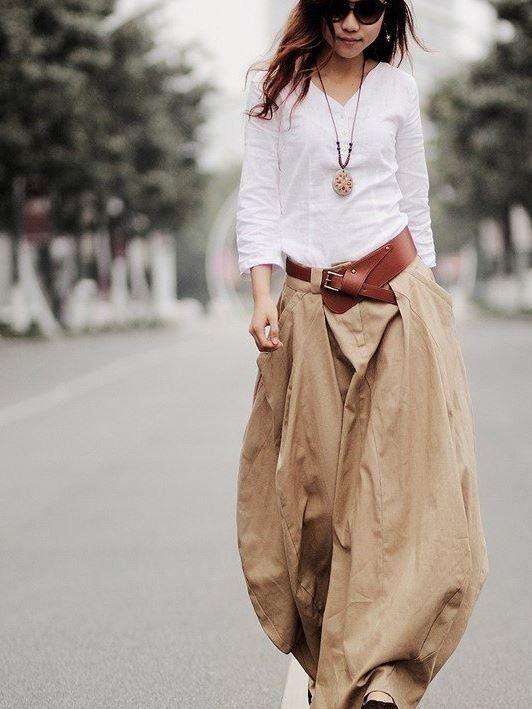 З чим носити лляну спідницю різної довжини і фасону: поради модного стиліста