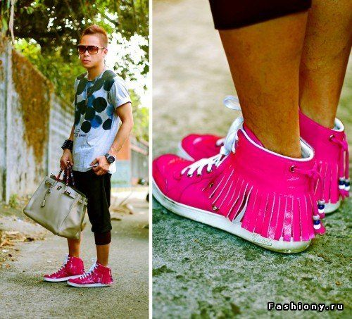 З чим носити рожеві кеди: поради стилістів і фото цікавих варіантів