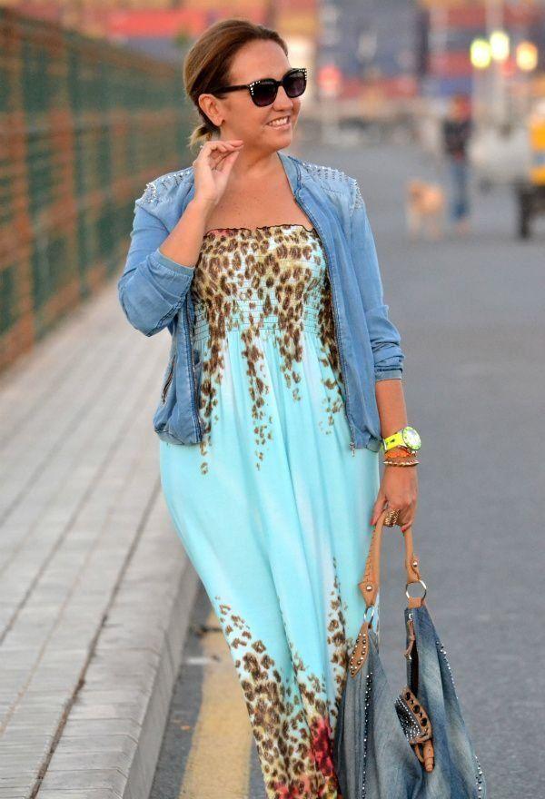 З чим носити сарафан повним жінкам, як вибрати модель, яка приховає недоліки фігури