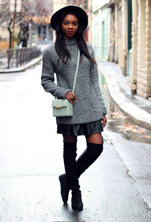 З чим носити сірий светр: створюємо ділової або повсякденний образ