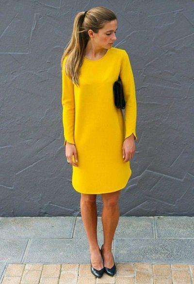 З чим носити жовту сукню на пляж, вечірку або в офіс