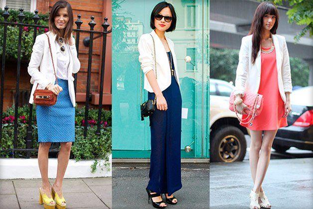 З чим носити жіночий білий піджак: створюємо стильні образи