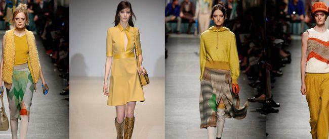 З чим поєднувати жовтий, гірчичний і кремовий кольори в одязі