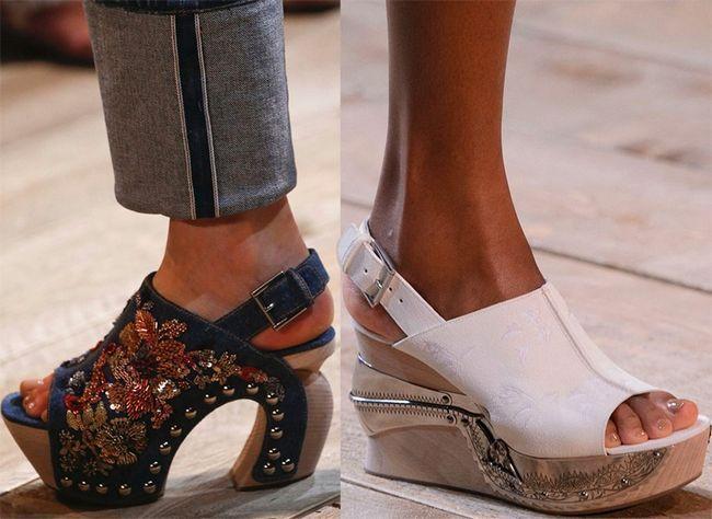 Наймодніші туфлі 2017 року: фото трендових моделей