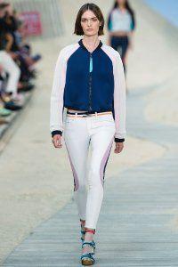 Короткий варіант куртки в спортивному стилі Tommy Hilfiger.