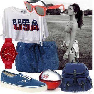 Короткі шорти в спортивному стилі.