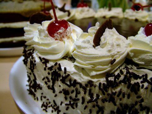 Торт з сирним кремом