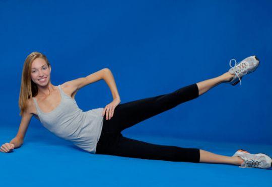 Вправи для схуднення за тиждень в області талії і живота