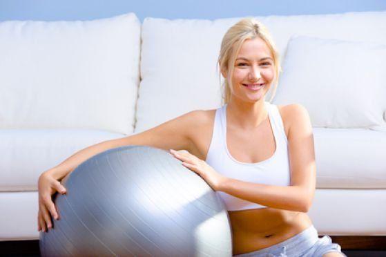 Вправи на м`ячі для опрацювання всіх груп м`язів