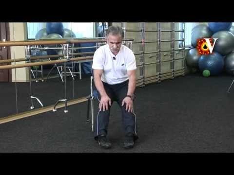 Вправи при артрозі колінного суглоба, які допомагають відновити його рухливість