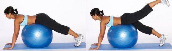 Вправи з гімнастичним м`ячем, як правильно вибрати фітбол