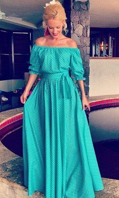 Форма сукні «панночка-селянка» для початківців з фасонами спідниці «тетянка» і «сонце»