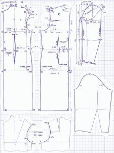 Викрійки суконь для повних на прикладі моделі